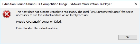 vmware workstation 12 system requirements